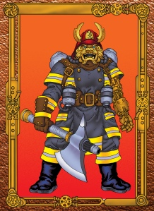 Fire Chief Faust, from Face Value Comics