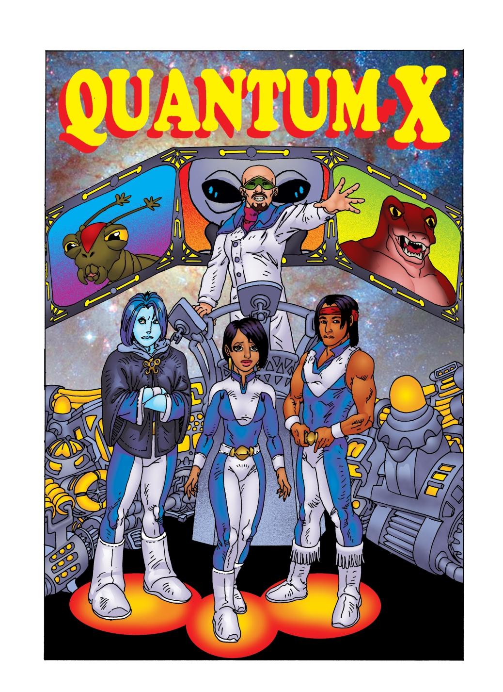 Cover Art for #1 Quantum-X